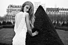 Beautiful backless style #weddingdress