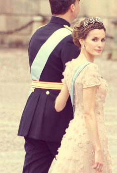 Crown Prince Felipe and Crown Princess Letizia of Spain