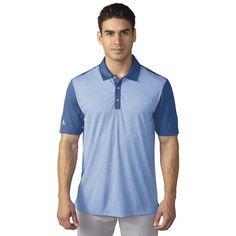 Adidas Climachill™ heather stripe polo