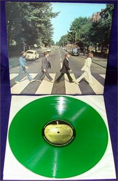 The Beatles - Abbey Road. Now in green!