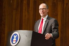 U.S. Secretary of Labor Thomas Perez said that new funding his agency is making available to states will help improve training opportunities for people with disabilities seeking employment. (U.S. Department of Labor/Flickr)