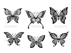 Resultado de imagen para tatuajes p  mariposas henna