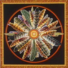 Hawk Feather Mandala