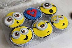 cupcake festa minions