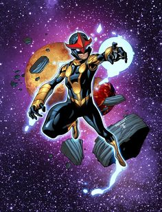 Nova by Ray-Anthony Height, inks by Sean P. Parsons, colours by Juan Fernandez *