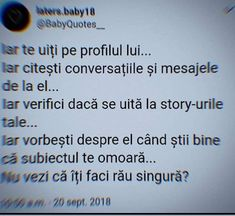I still do not notice that he no longer gives me money .- Încă nu observ ca el nu mai da doi bani pe mine… I still do not notice that he no longer gives me money … - Outer Space Party, Diy Fashion Hacks, Let Me Down, Quote Aesthetic, Birthday Fun, Social Platform, Funny Texts, Cool Words, Party Planning