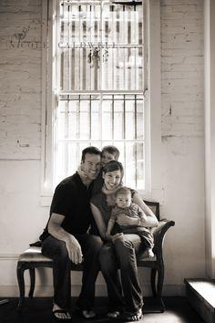 Studio photography ideas for family photographs