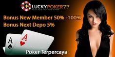 Poker Online Terpercaya: LUCKYPOKER77 BANDAR SITUS POKER ONLINE TERPERCAYA
