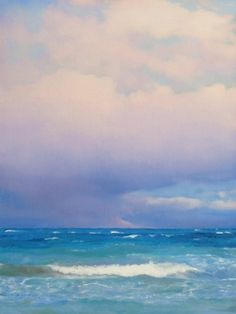 Approaching Storm, painting by artist Oriana Kacicek