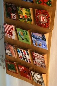 Ever wonder what to do with all those Christmas cards??? REUSE THEM :)