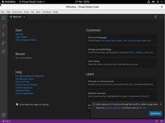 """""""How to Install Visual Studio Code on CentOS 8"""" Visual Studio Code adalah open source, editor kode lintas platform yang dikembangkan oleh Microsoft. Ini memiliki dukungan debugging bawaan, kontrol Git tertanam, penyorotan sintaks, penyelesaian kode, terminal terintegrasi, refactoring kode, dan cuplikan. How to Install Visual Studio Code on CentOS 8 1. #devops #install #VisualStudioCode #visualstudiocodeandroid #visualstudiocodeiphone #visualstudiocodepython #visualstudiocodexamarin"""