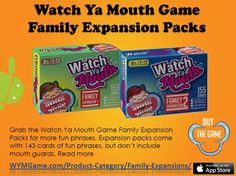 Watch Ya Mouth Game Family Expansion Packs
