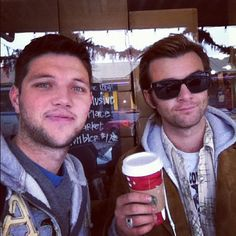 Keith and Colm in Seattle at Starbucks Original store!!