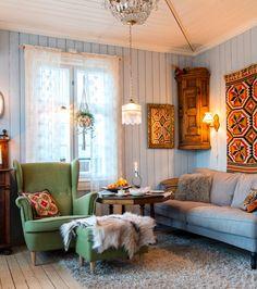Interior Design and Home Decor Ideas Interior Design Living Room, Interior Decorating, Vintage Stil, Common Area, Cottage Homes, Scandinavian Interior, Room Inspiration, Beautiful Homes, Home Goods