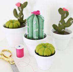 Cactus push pins!!!!