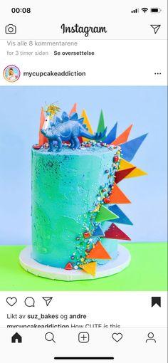 Dinosaur Cakes For Boys, Dinosaur Birthday Cakes, Dinosaur Party, The Good Dinosaur Cake, Dino Cake, Dinosaur Cupcake Cake, Dinosaur Cake Toppers, Festa Jurassic Park, 3rd Birthday Parties