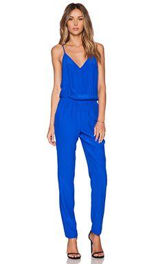 dbe260a43ade Amanda Uprichard Cricket Jumpsuit in Royal Blue Jumpsuits