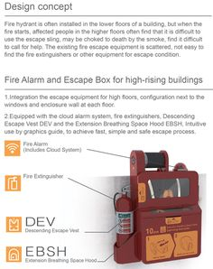 Fire Alarm and Escape Box for High-rise Building by Cheng-Ming Wang & Cheng-Yu Tsai