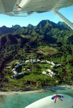 Air Rarotonga Flights | ... ruins quo vadis as seen from air rarotonga s scenic flight cessna