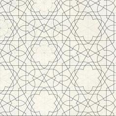Trompe-l'oeil geometric floor, House of the Faun, Pompeii