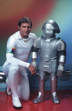 """""""Buck Rogers in the 25th Century"""" Gil Gerard, Twiki the Robot"""