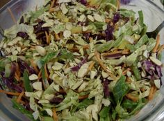 Asian Coleslaw Recipe #glutenfree