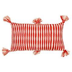 Antigua 12x20 Pillow, Red $165.00