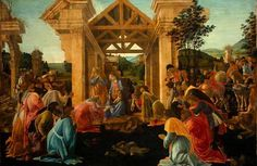 The Adoration of the Magi (1470 -75) by Sandro Botticelli