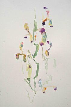 Bloemen / Aquarel-collages / Marc Mulders
