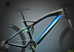 Mondraker Elipse by Pierre FRANCOZ, via Behance