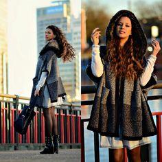 Zara Ponchos | LOOKBOOK