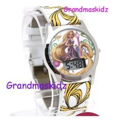 Disney Princess Tangled Rapunzel Wrist Watch Digital