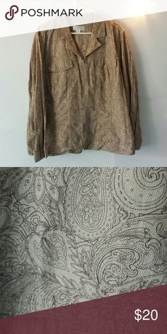 C.J. Banks by Christopher & Banks Jacket Great condition! Has a shimmer to it as seen in pic #2 reasonable offers welcome! C.J. Banks by Christopher & Banks Jackets & Coats