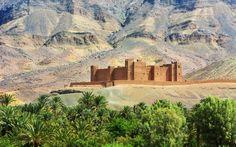 Vista de la 'kasbah' de Timiderte, del siglo XVI, en el valle de Draa, en Marruecos.  Los 10 destinos con mejor relación calidad-precio para 2017 Lonely Planet escoge los lugares donde tu presupuesto viajero cundirá más el próximo año      FOTOGALERÍA Los 30 mejores destinos para 2017