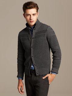 #WinterIsComing | Layering stili icin hazirliklar... #BananaRepublic Hirka ✔️ @ Brand-Store.com Urun No: 344804 #menswear #erkek