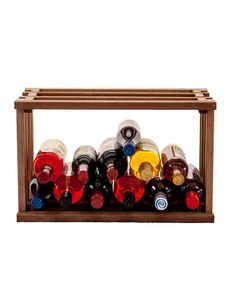 Wine Stacks Bin is a unique stackable wine storage rack available in 3 different wood species. Great for stacking in a spare closet to make a mini-wine cellar. Small Wine Racks, Wine Rack Storage, Wine Cellar, Wood Species, Create Your Own, Bottle, Mini, Unique, Frame
