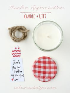 Teacher Gift: DIY So