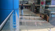 Mantenimiento de vidrios laminados 6+6 con PVB