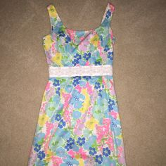 Lilly Pulitzer dress Worn once for homecoming. In great shape! Very classy dress. Lilly Pulitzer Dresses Mini