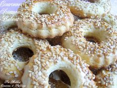 Gâteaux Secs aux Halwat Turc et Graines de Sésames (حلوة الترك+جلجلان) - Couscous et Puddings