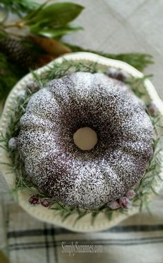 chocolate (sour cream) bundt cake