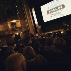 The #JulienDubuqueInternationalFilmFestival is starting the #SilentFilm soon at the #FiveFlagsTheater!! This is an awesome show #Dubuque!