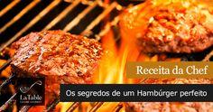 Receita da Chef – Os segredos de um Hambúrger perfeito