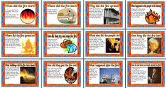 Great Fire Of London Timeline Ks1