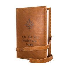 Standard Handmade Leather Journal in All Wander