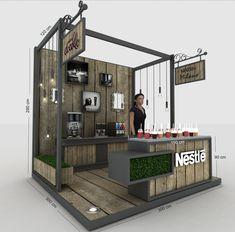 Behance exhibition stand design, show booth, kiosk design, bar design, disp Kiosk Design, Bar Design, Coffee Shop Design, Display Design, Retail Design, Store Design, Signage Design, Corporate Design, Food Design
