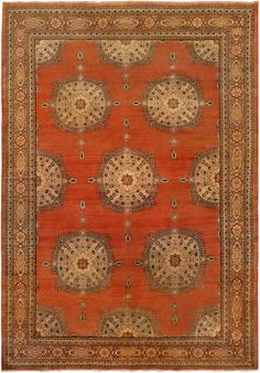 Doris Leslie Blau is an exclusive New York rug gallery offering antique rugs for sale. Our NYC collection includes rare wool antique Persian and vintage carpets, among others. Red Persian Rug, Persian Carpet, Textiles, Tabriz Rug, Carpet Trends, Carpet Ideas, Red Rugs, Carpet Colors, Floor Rugs
