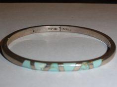 Vintage Sterling Silver  Taxco Bracelet by Avujewelry, $24.99