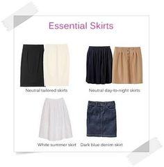 Essential Skirts - Your Wardrobe Essentials