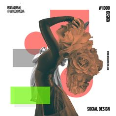 collage art for social media marketing design adverts for instagram. Collage design using adobe spark post for instagram social media page for wiidoo media